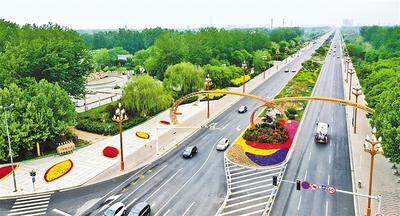 """河北廊坊:一街一精品建设""""花园城市"""""""